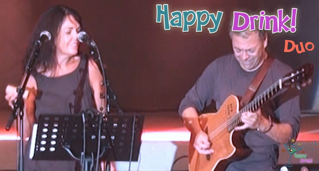 Happy Drink Mariages Café concert Manolita DUO